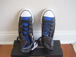 BNIB Converse All Star CT Slip IT HI S, Storm Wind/Blue, Boys, size 1(Yo... - $27.70