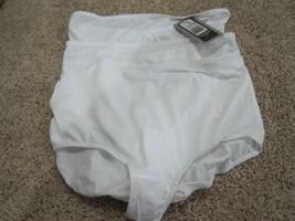 BNWT Jockey 3pk women's high waist briefs, white, sz6, polyester/spandex, $25.50 - $9.50