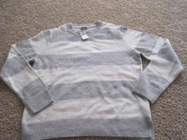 BNWT Gap women's lambswool long sleeve sweater, size L, wool blend, crewneck - $14.90+