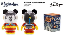 "NEW! Disney 3"" Vinylmation Mickey & Friends in Space (Limited Release) -... - $12.13"