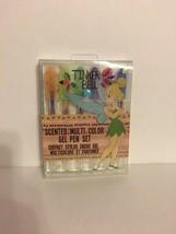 Scented Multi Color Gel Pen Set Tinker Bell Set of 6 Disney Exclusive Limited - $9.74