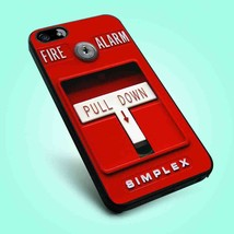 Fire Alarm Cover iPhone 4 4s 5 5S 5C 6 Samsung Galaxy S4 S5 S6 - $12.99