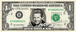 JERRY LEE LEWIS on REAL Dollar Bill Cash Money Bank Note Currency Dinero - $5.55