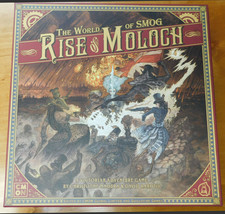 CMON The World of SMOG Rise of Moloch Core game Kickstarter with Baker St. Exlcu - $93.15