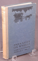 Parnassus on Wheels-Christopher Morley-Antique Book-Classic-1917- - $42.06