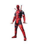 Men's Deluxe Official Marvel Deadpool Cosplay H... - $46.39