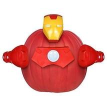 Iron Man Marvel Avengers Halloween Pumpkin Decorating Kit  Push In No Carve - $9.89