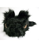 Daniel Boone Black Bear Hat with Eyes and Ears Plush Acrylic Large - $11.00