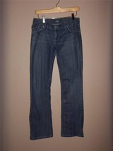 W7412 Womens ROCK & REPUBLIC Blue Stretch Denim SLIM BOOT CUT JEANS 25/0... - $17.35