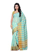Mimosa Artificial Silk Saree Uppada Style with ... - $52.00