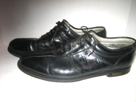 FOOTJOY Men's Premiere Classics Dry Black Leather Soft Spike Golf Shoes,... - $55.00