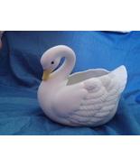 Homco Graceful Swan Planter 1402 Home Interiors - $6.99