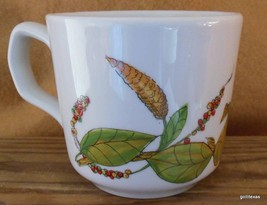 "Vintage Poivre Mug Pepper Plants and Berries Made in France  3.75"" - $19.91 CAD"