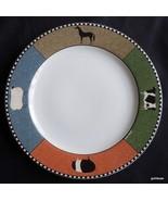 "Vintage Warren Kimble Dinner Plate Barnyard Animals 10 7/8"" Sakura - $13.00"