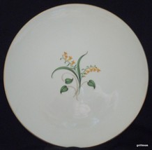Vintage '50's Set of 2 Dinner Plates Knowles Forsythia 10.25 - $20.00