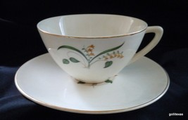 Vintage '50's Set of 2 Cups and Saucers Knowles... - $12.00