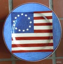 Spirit of the Flag Dessert / Salad Plate Waren Kimble - $12.00