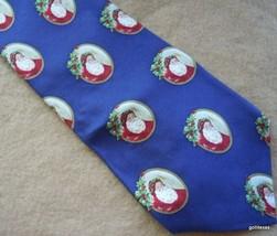Chrismas Tie Old World Santas 100% Silk John Henry Ultra - $12.40