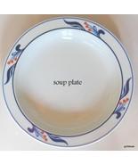 "Dansk Bistro Maribo Blue Portugal  Rim Soup Bowl  8"" - $22.00"