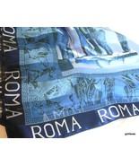 "ROMA Scarf  38"" Square Blues - $19.40"