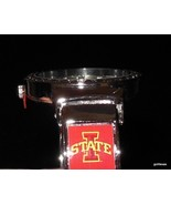 New Iowa State Women's  Cuff Watch Round Face Silver Tone with Logo - $35.40