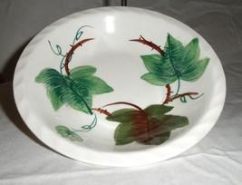 Blue Ridge Pottery  Highland Ivy   Set of 2  Handpainted Fruit Bowls 5.25 in - $16.00
