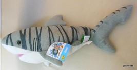 "Cuddlkins Tiger Shark 12"" New with Tags Wild Republic - $14.40"