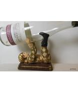"""Jester Wine Bottle Holder Resin 5 x 5.5"""" - $38.40"""