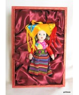 "Chinese Ethnic Doll in Presentation Box Bisque 6"" Ministry of Culture PRC - $25.40"
