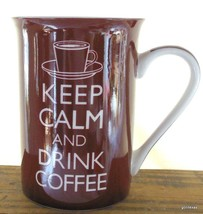 """Keep Calm and Drink Coffee"" Mug 4"" Kent Pottery - $16.00"