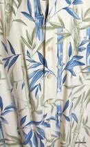 Hawaiian Shirt Hilo Hattie 100% Silk Bamboo Pattern  Medium - $23.40