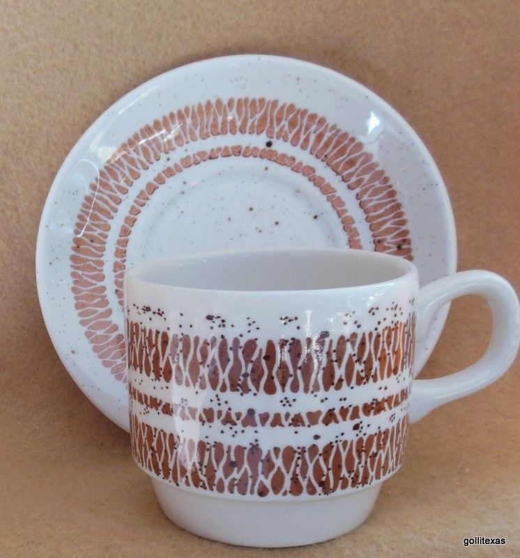 Primary image for Vintage Bolton's Tableware Cup and Saucer  Staffordshire England Speckled