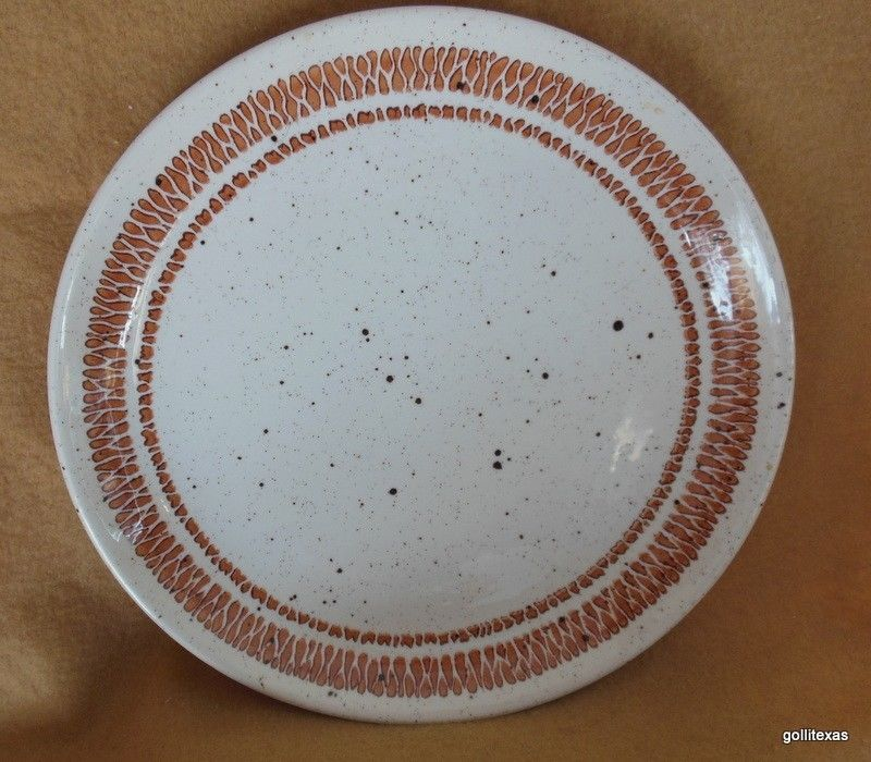 "Primary image for Vintage Bolton's Tableware Dinner Plate 6.5"" Staffordshire England Speckled"