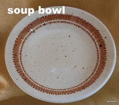 "Vintage Bolton's Tableware Soup Bowl 6.5"" Staffordshire England Speckled - $10.00"