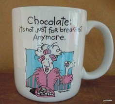 "Vintage Mug ""Chocolate ..It's not just for Breakfast Anymore"" 3.5"" - $14.00"