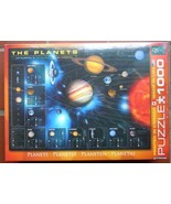 "NEW Eurographics Jigsaw Puzzle ""The Planets""  1000 Pieces Gorgeous - $27.40"