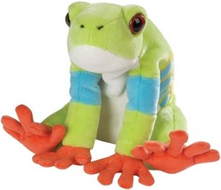 "Red Eyed Tree Frog New Plush Wild Republic 12"" WOW - $15.00"