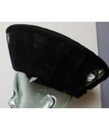 Fabulous Hat Black with Purple and White Hand Made Signed Sundita Women'... - $45.00