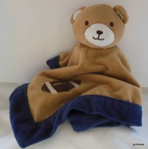 "Tiddliwinks Lovey Security Blanket Bear with Football 14"" - $19.40"