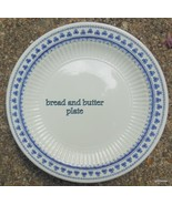 "Set of 2 Adams English Ironstone Brentwood Bread Butter Plate 6 1/8"" Blu... - $24.00"