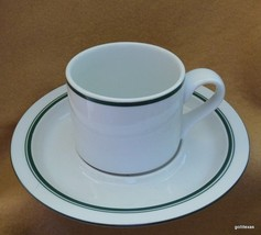 Christianshavn Green  Dansk Cup and Saucer Portugal Bistro - $12.00