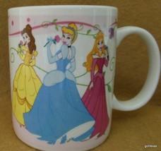 "Disney Princesses Mug Cinderella Belle Aurora 4"" Gibson and Disney - $15.00"