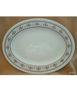 "Vintage Royal Doulton Kimberley Serving Platter Oval 13"" 1973 - $40.00"