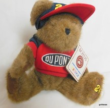 "Boyds Bears Nascar 10"" Jeff Gordon  # 24 With Cap and Sweatshirt and Tag - $15.40"