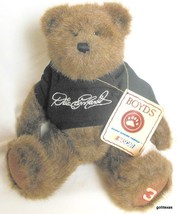 "Boyds Bears Nascar 10"" Dale Earnhart  # 3 With  Sweatshirt and Tag - $15.40"