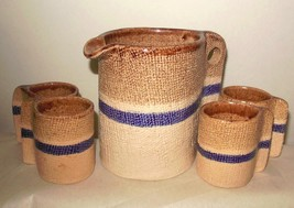 Espresso Coffee Set Hand Made Pottery Venezuela... - $49.94