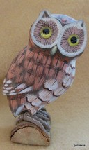 "Vintage Hand Painted Barn Owl on Branch 4.5"" - $24.00"
