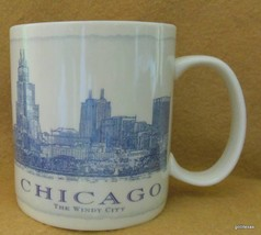 Starbucks Mug Chicago 2007 The Windy City 18 oz - $25.00