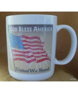 """God Bless America"" Wonder Mug Flag and Fireworks Changes with Heat - $16.00"