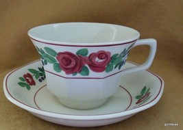 Vintage Adams Ironstone Cup and Saucer Bridgewater - $10.00